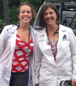 Dr. Erin Rockhill and Dr. Debra White