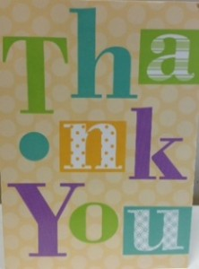 Patient Hippo Thank You Card