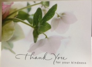 Patient Oreo's Thank You Card