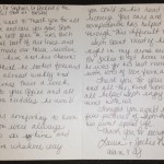 Seth Guinea Pit patient Belle Mead Animal Hopsital Thank you Card