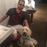 Greg Costa, TBI Survivor, with Service Dog