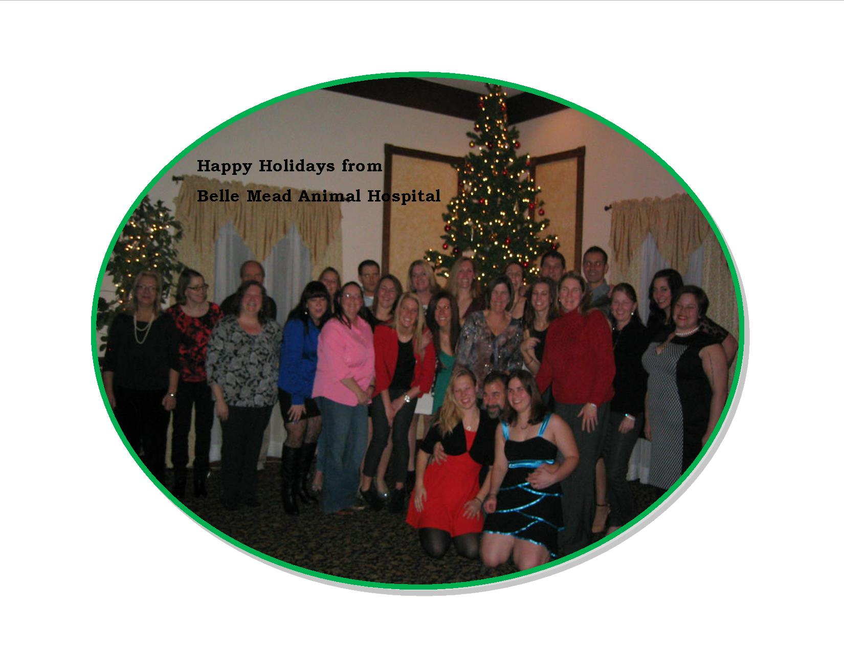 Happy Holidays  from Belle Mead Animal Hospital