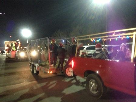 2013 Hunterdon Holiday Parade Reindeer Float