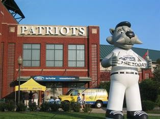 Somerset Patriots Bark in the Park Night at TD Bank Ballpark