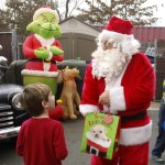 Santa at 2015 Belle Mead Animal Hospital Reindeer Event