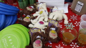 Toys and Refreshments at Belle Mead Animal Hospital 2015 Reindeer Event