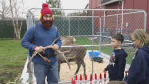 Yukon Cornelius at 2015 Belle Mead Animal Hospital Reindeer Event