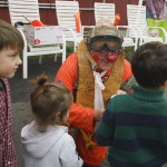 Crash and Burn Freddie entertains the children