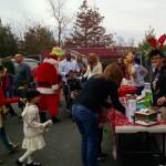 Visitors at 2015 Belle Mead Animal Hospital Reindeer Event
