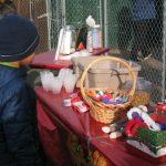 Treats at Belle Mead Animal Hospital Live Reindeer Even