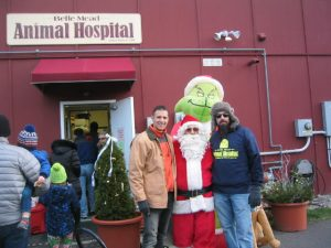 Dr Joe Martins Belle Mead Animal Hospital Live Reindeer Holiday Event