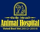 Belle Mead Animal Hospital Voted Best Vet 2012 - 2016