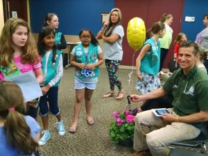 Dr Martins and Girl Scout Troop