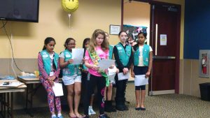 Girl Scouts Paws for a Cause project