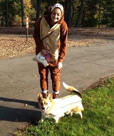 Banana Dog at Howl-O-Ween