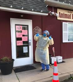 Veterinary Technician COVID-19 Pandemic